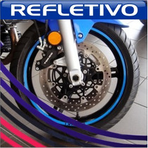 Friso Adesivo Refletivo Curvo Moto + Brinde + Frete Grátis!