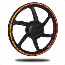 Friso Adesivo Moto E Carro 10mm Refletivo Onda+frete Grátis!