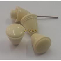 Botão De Painel Branco Do Fusca Karman Ghia