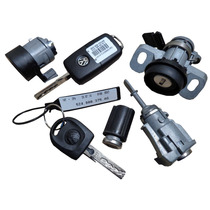 Kit Cilindro Ignição Chave Telecomando Porta Malas Gol G6