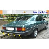 Gm Tira Borrachão Pára-choque Traseiro Opala Comodoro 85-90