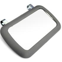 Espelho Quebra Sol Carro Passegeiro Cinza Universal Frete Gr