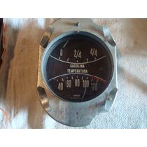 Willys Aero 63 64 Marcador De Gasolina Temperatura Painel