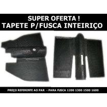 Tapete Para Fusca Modelo Original Inteiriço ( Par )