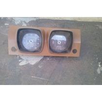 Painel Marcador Velocidade E Gas. Corcel 1 Luxomarron