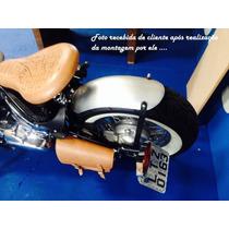 Paralama Artesanal Em Aço P/ Moto Chopper Bobber Dragstar