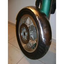 Paralama Artesanal Em Aço P/ Moto Chopper Bobber Café Racer
