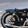 Paralama Moto Traseiro Harley Sportster Xl 883 Custom Bobber