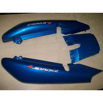 Carenagem Rabeta Traseira Yamaha Ybr 125 Azul