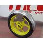 Paralama Dianteiro Artesanal Aço 90cm+ Orelha Raio Triciclo