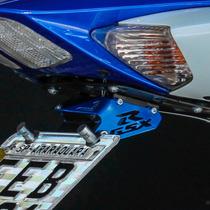 Suporte De Placa Eliminador Ironwing Srad 750 E 1000 Azul