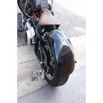 Suporte Placa Lateral Chopper Bobber Custom Harley Davidson