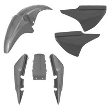 Kit Plástico Carenagem - Honda Cg Titan 150 2008 Cor Prata
