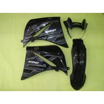 Kit Carenagem Xt660 Preta 2015 Speed China