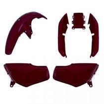 Kit Carenagem P/ Titan Cg 125 Ano 1999 Modelo 2000 Vermelho
