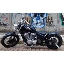 Paralama Artesanal Aço Para Moto Bobber Custom Café 180mmx70