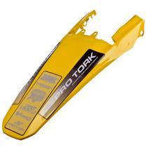 Paralama Para Lama Rabeta Xr 250 Tornado Amarelo Pro Tork