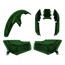 Kit Plástico Carenagem P/ Titan Cg 125 Ano 1997 1998 Verde