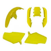 Kit Carenagem P/ Titan Cg 125 Ano 1995 1996 Amarelo Correio