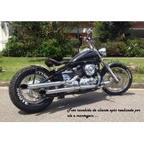Kit Dragstar 650 Bobber Paralama 90cm Banco Solo C/ Forraç