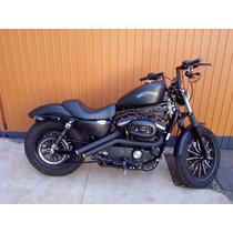 Guidon Alto Para Harley Davidson 883 De 8 A 16 Polegadas...