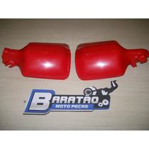 Honda Xlx 350 Protetor De Mão E Manete Vermelho