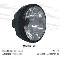 Farol Completo Para Moto Cg 150 Titan