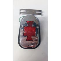 Lanterna De Freio Cruz De Malta Motos Custom Chopper Bobber