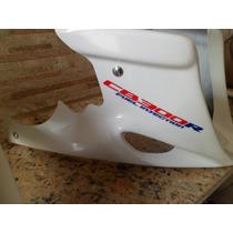 Kit Cb300 Spoiler + Capacorrente Pintada Na Cor De Sua Moto