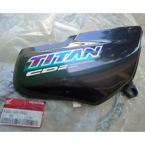 Tampa Lateral Carenagem Titan 125 Grafite 97 Original Honda