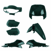 Kit Carenagem Completa Biz100 Verde Met 2001 Modelo Original