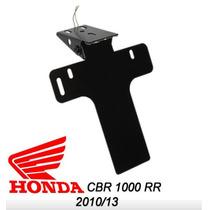 Suporte De Placa Elimina Rabeta Led Honda Cbr1000 2010 2013