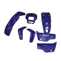 Kit De Carenagem - Honda Xlr 125 - Sem Adesivo - 7 Peças