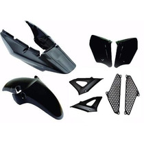 Kit Carenagem Completo Cbx 250 Twister Preto 2008