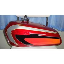 Tanque Honda Ml 125 Cg Bolinha Vermelha 1978 A 1983