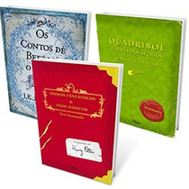 Kit - Os Clássicos De Harry Potter (3 Livros) Novo Lacrado