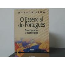 Essencial Do Português Concursos E Vestibulares Myrson Lima