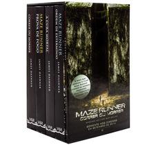Box Maze Runner Coleção Completa 5 Livros + Poster -lacrado