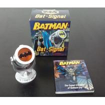 Batman Bat Sinal Mini Kit C/ Livro Luz Acende! Frete Grátis!