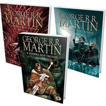 Coleção A Guerra Dos Tronos Hq 3 Livros George R. R. Martin