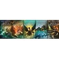 Box Percy Jackson E Os Olimpianos 5 Livros
