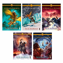 Os Heróis Do Olimpo - 5 Livros Novos E Lacrados