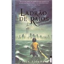 Livro O Ladrão De Raios - Percy Jackson E Os Olimpianos