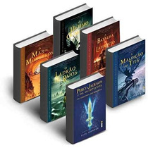 Kit Livro Coleção Percy Jackson E Os Olimpianos - 6 Livros