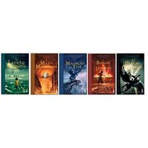 Coleção De Livros Percy Jackson E Os Olimpianos 1,2,3,4,5