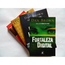 C800 - Dan Brown - 4 Livros - O Código Da Vinci - Simbolo P.