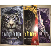 Série A Maldição Do Tigre. Livros Usados Bem Conservados.