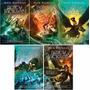 Coleção Percy Jackson E Os Olimpianos 5 Livros - Novas Capas