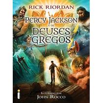 Livro - Percy Jackson E Os Deuses Gregos - Rick Riordan