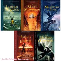 Coleção Percy Jackson E Os Olimpianos 5 Livros Frete Gátis